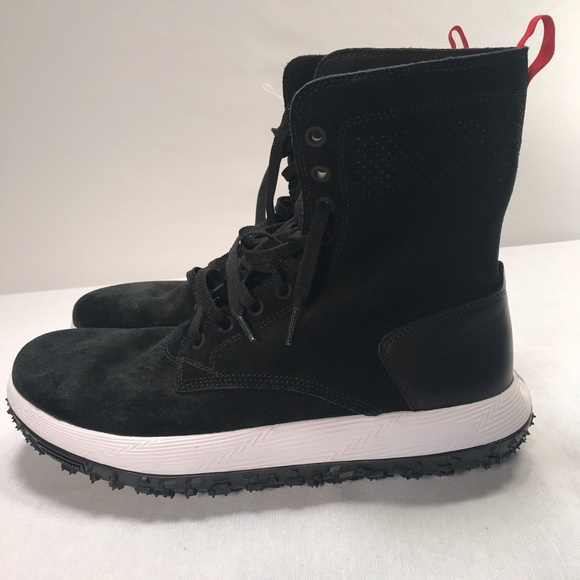 newest 93307 d5eba Under Armour UAS RLT Fat Tire Summer Boots Suede NWT